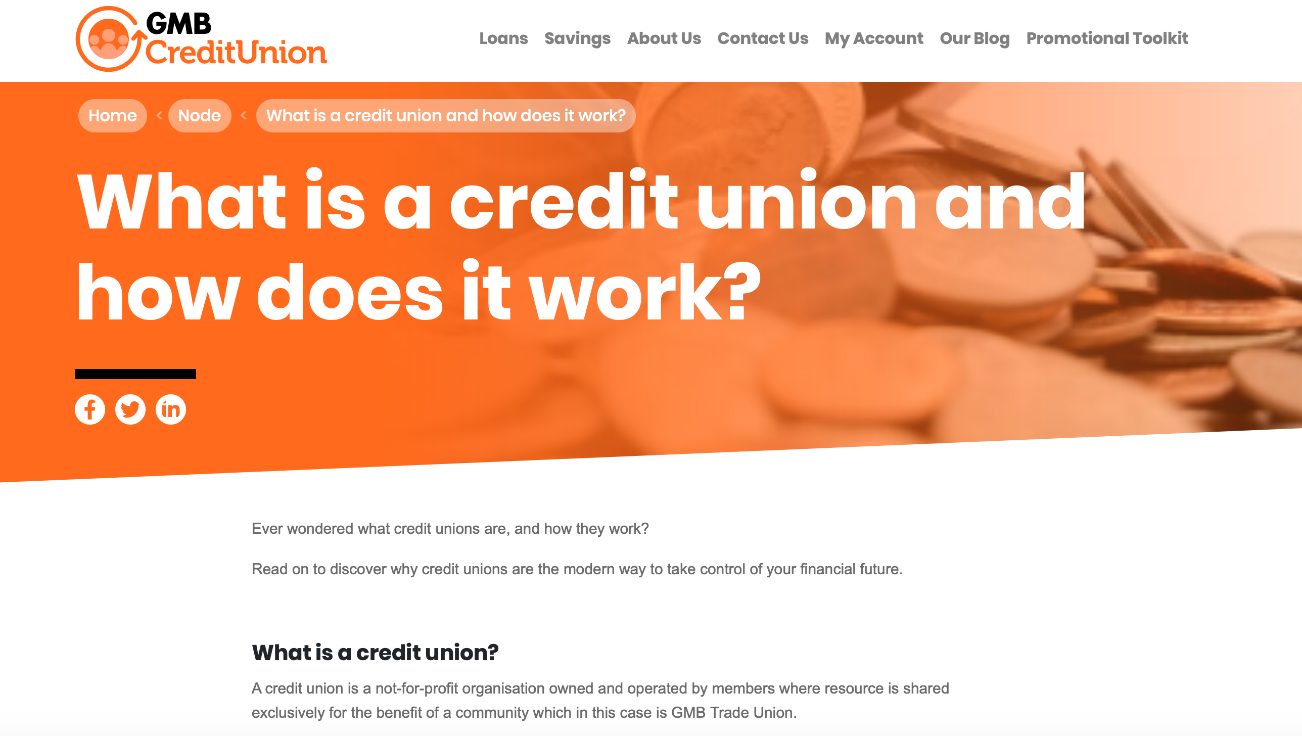 gmb credit union blog writing