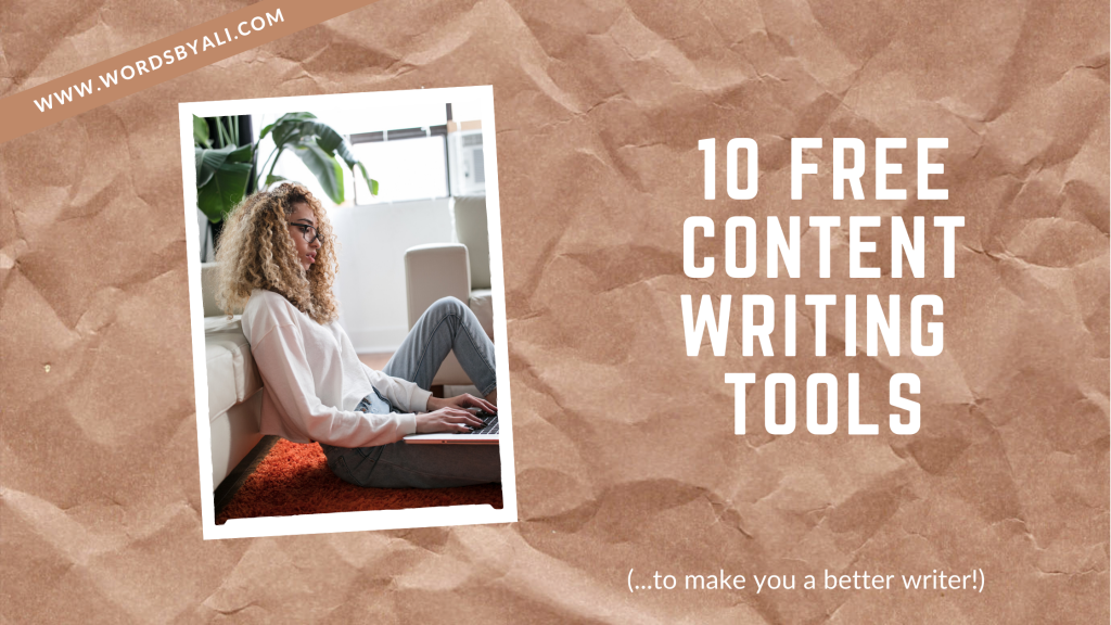 10 free content writing tools