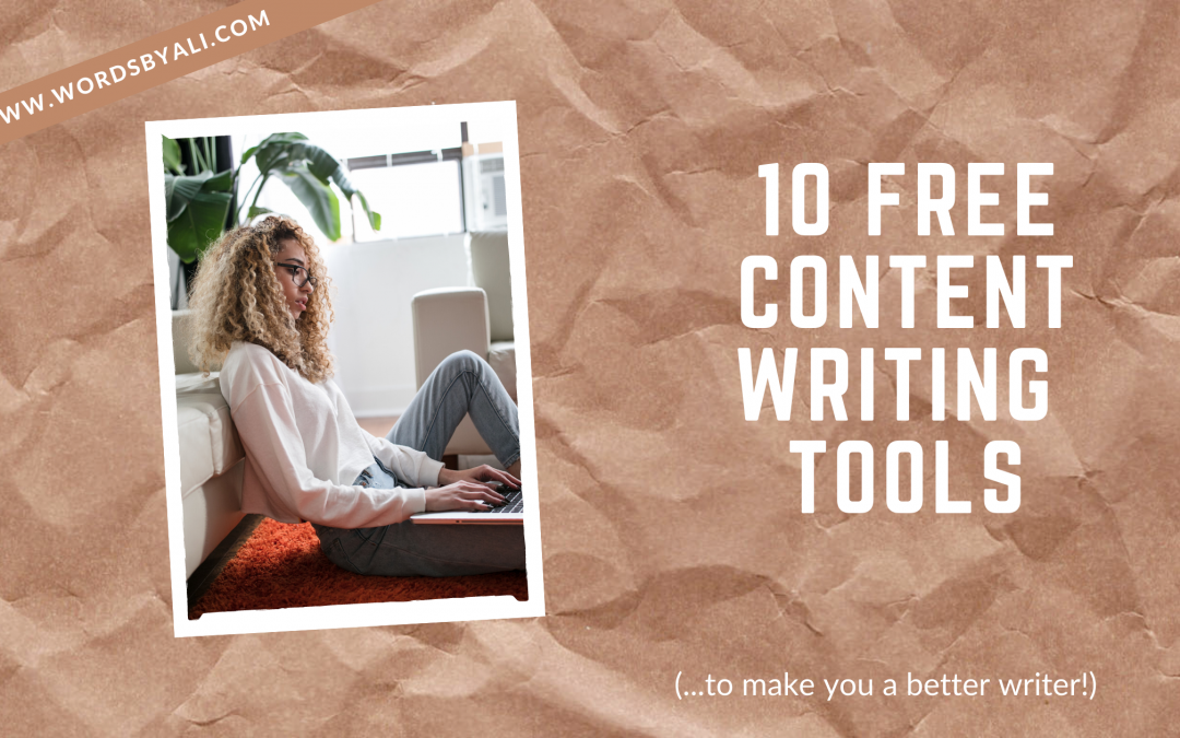 10 free content writing tools to make you a better writer