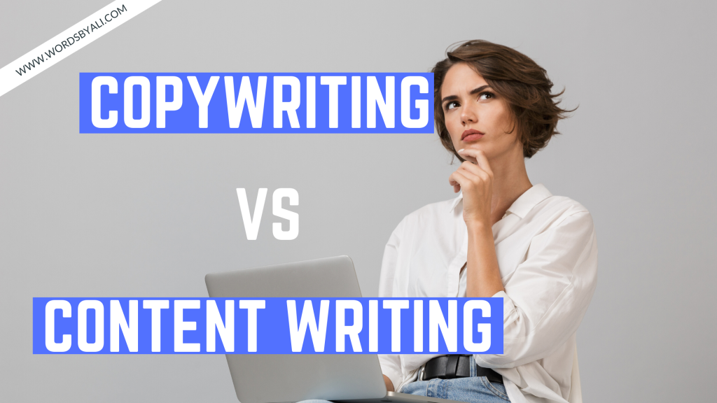 copywriting vs content writing
